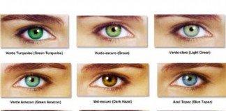 Cor dos teus olhos