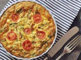omelete no forno