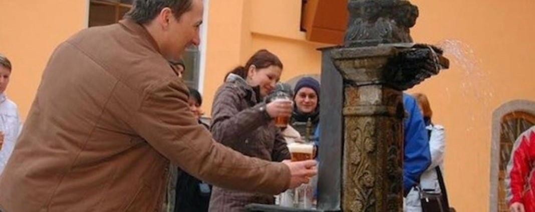 Fonte de cerveja