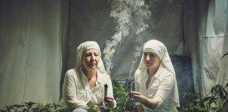 freiras plantam