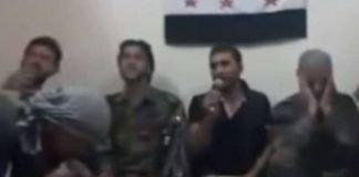 Rebeldes sírios