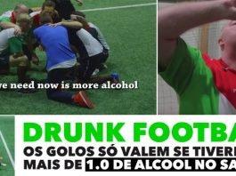 Drunk football