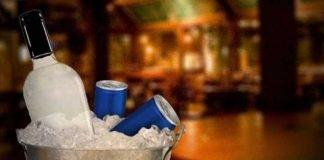 Álcool com energético