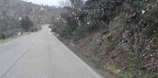 Nevou no Algarve