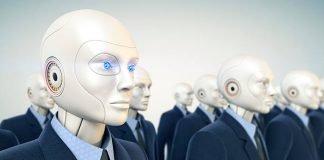 Robô substitui funcionários