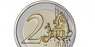 10 moedas de dois euros