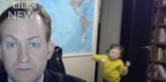 Crianças interromperam pai