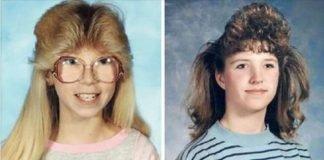 Cabelos década 80 e 90