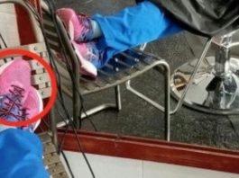 Enfermeira adormece no cabeleireiro