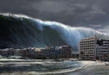 Portugal fustigado por tsunami