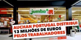 Auchan oferece 13 milhões