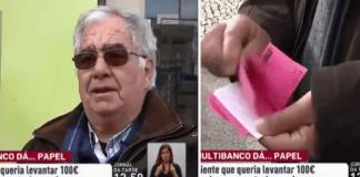 Português vai levantar dinheiro