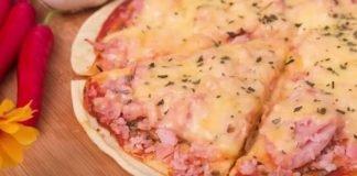 Pizza de tapioca