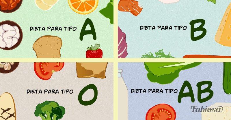 dieta 0 positivo)