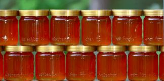 Adoçar comida com mel