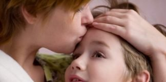 Beijo de mãe