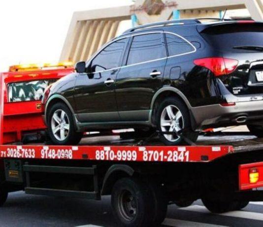 Cuidado para o teu carro não ser apreendido