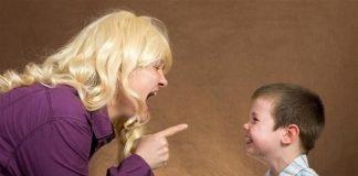 Gritar provoca danos no cérebro das crianças