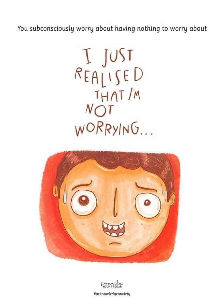 Viver com ansiedade