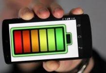 bateria do telemóvel