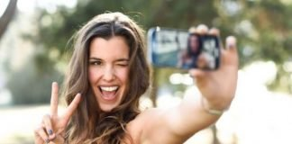 Tirar selfies