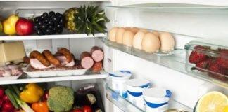alimentos que não se deve guardar no frigorífico