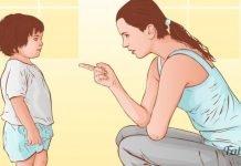 Chamar a atenção dos filhos