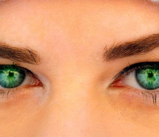 factos interessantes sobre olhos verdes