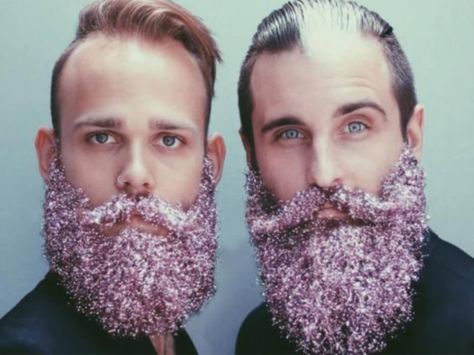 Barba de Glitter