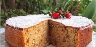 Deliciosa receita de bolo de Natal