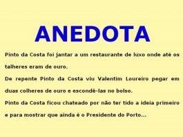 Pinto da Costa vai a um restaurante