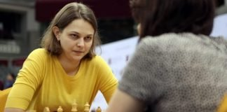 campeã do mundo de xadrez