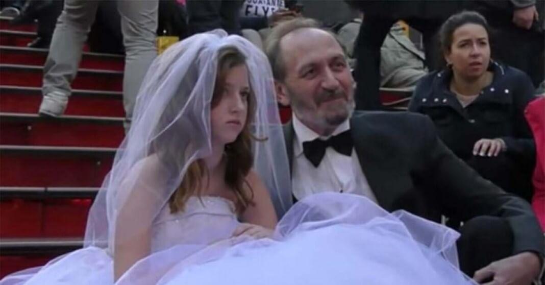 casamento de menina de 2 anos