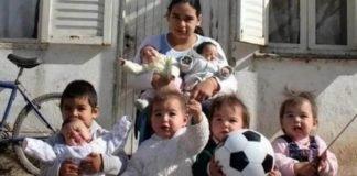 adolescente com 7 filhos