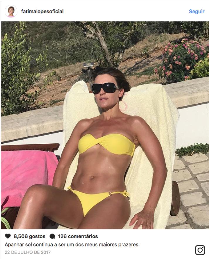corpo perfeito - Fátima Lopes