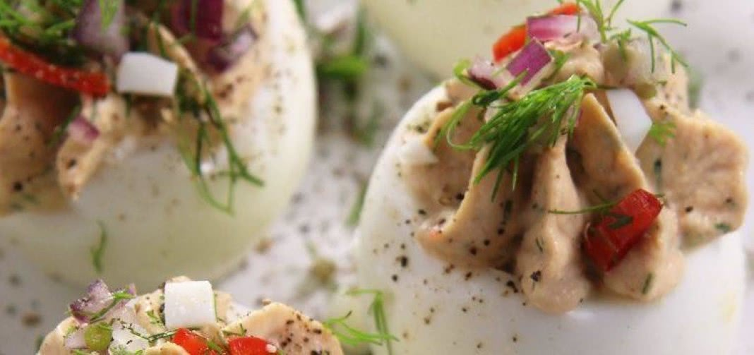 Receitas de ovo com atum