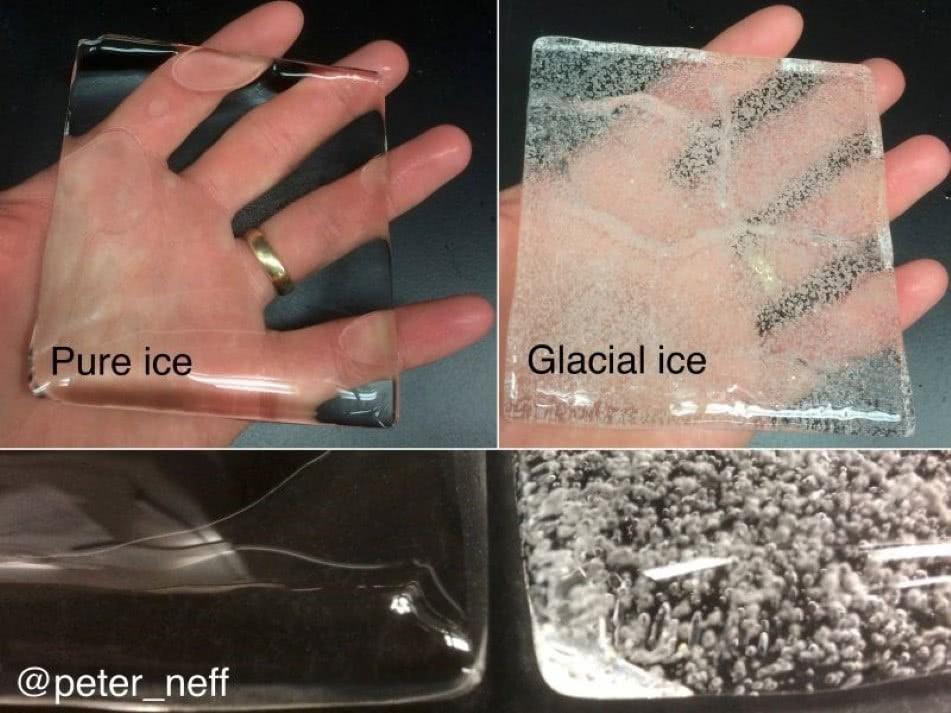 Som de gelo a cair
