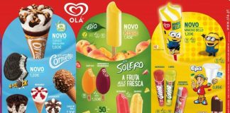 chegada do Verão com 5 novos gelados