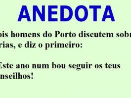 Dois homens do Porto discutem