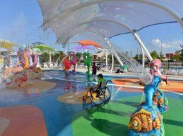 primeiro parque aquático