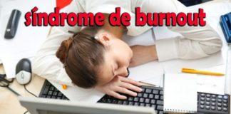 sintomas do síndrome de burnout