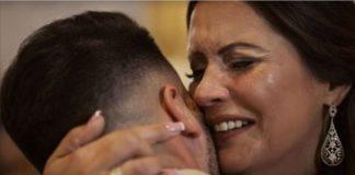 vídeo muito emotivo do casamento