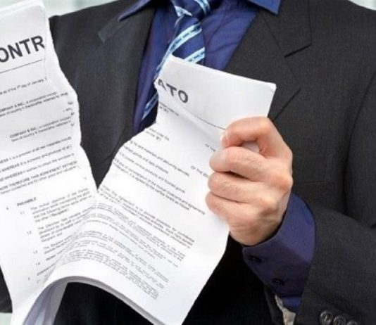 rescisão de contratos sem penalização