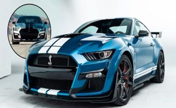 potente Mustang Shelby GT500