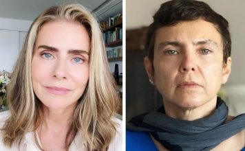 Maitê Proença e Adriana Calcanhoto